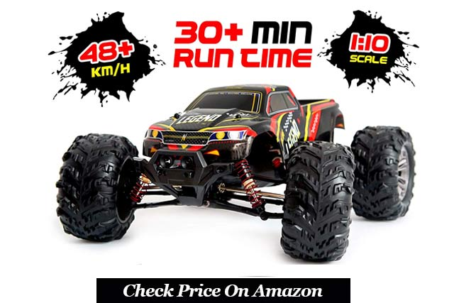 Remote Control 4x4 Off Road Monster Truck Electric