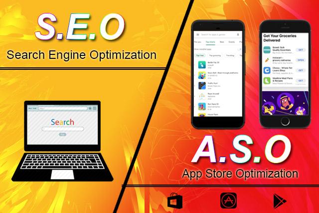 seo-(search-engine-optimization-vs-aso(app-store-optimization)
